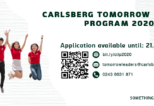 CARLSBERG TOMORROW LEADERS PROGRAM 2020